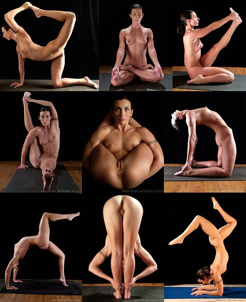 Nude Yoga Girl Picture